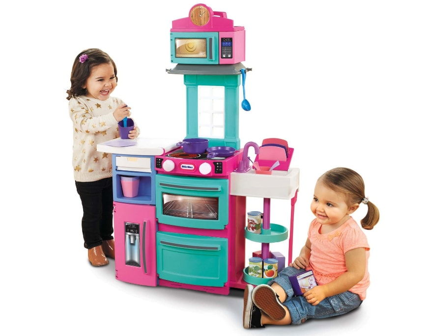 Little Tikes Cook 'n Store Kitchen Playset - Pink