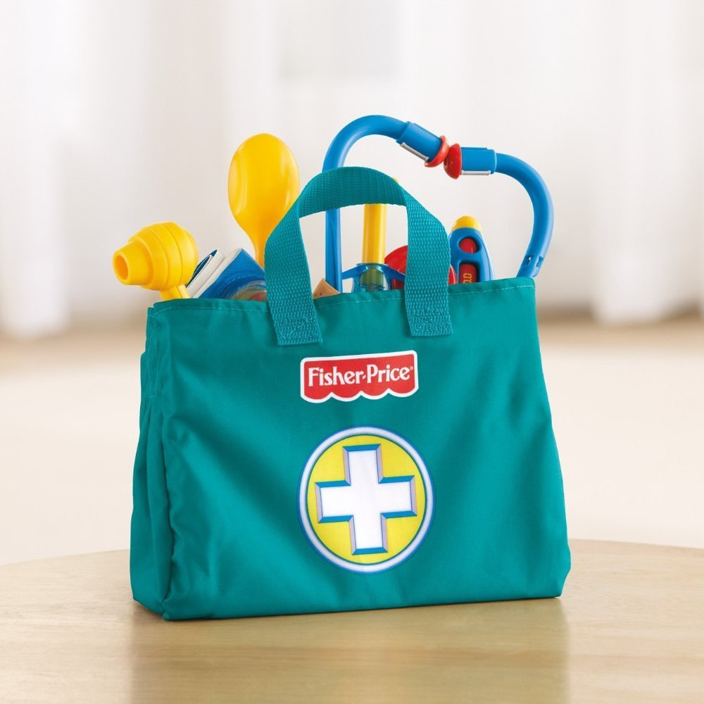 Fisher Price Doctor Kit Top Pretend Play Toy Toytico