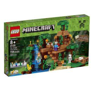 Jungle tree house with Alex LEGO toys
