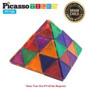 Picaso Tiles Pyramid