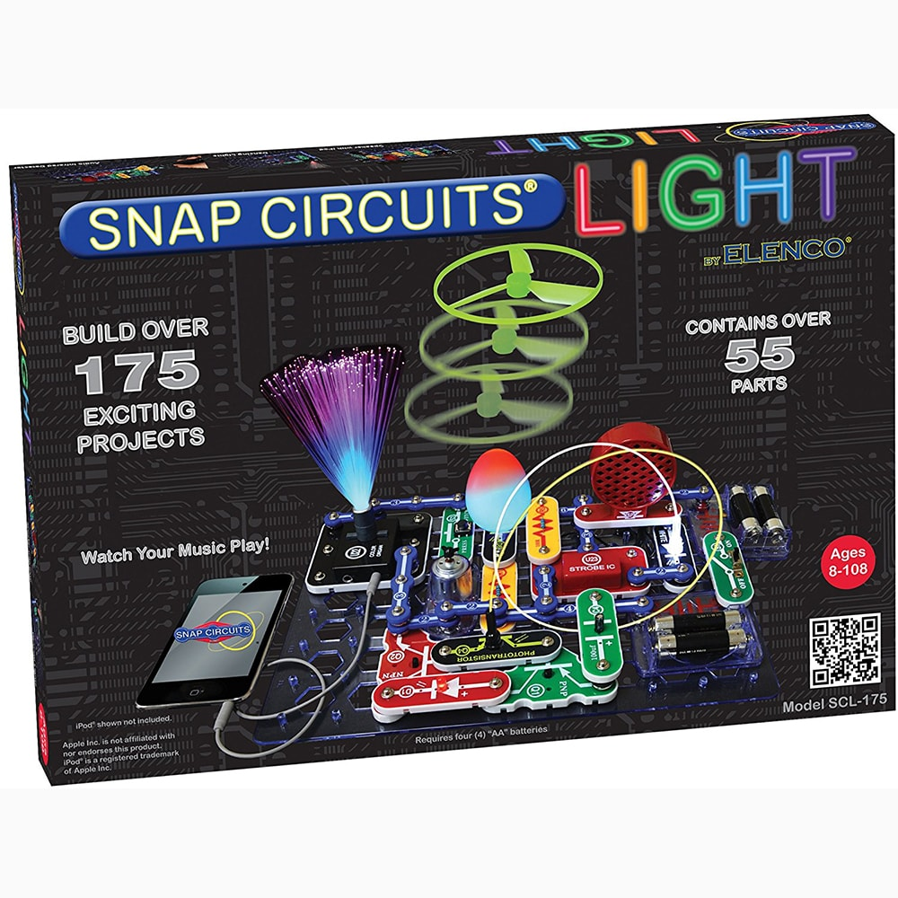 Snap Circuits Lights Kit For Kids Toytico