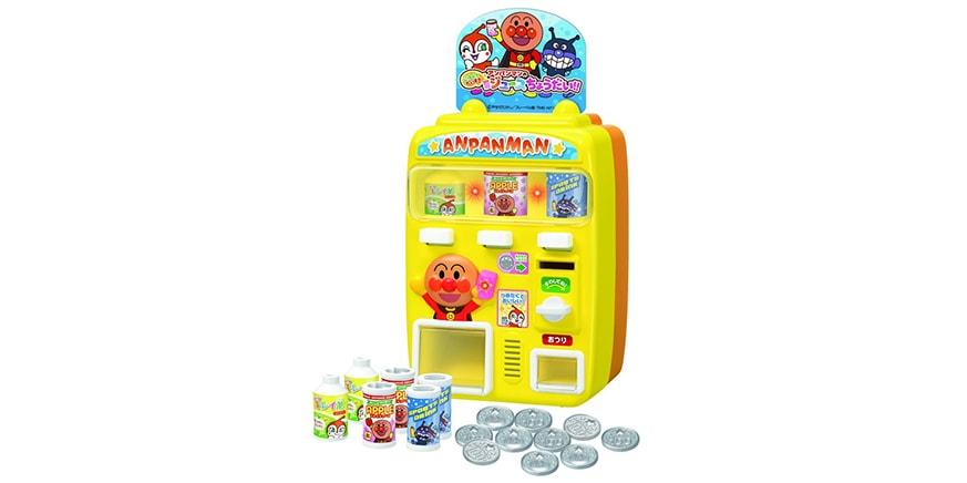 Juice give me Anpanman vending machine