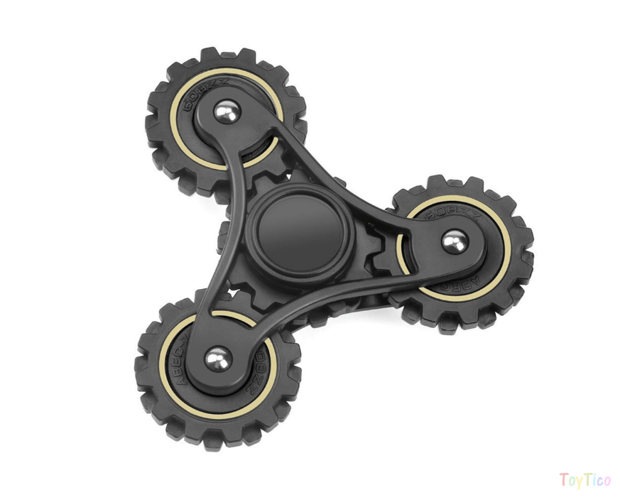 WOPOW Durable and Rugged Wheel Gears Fidget Toy