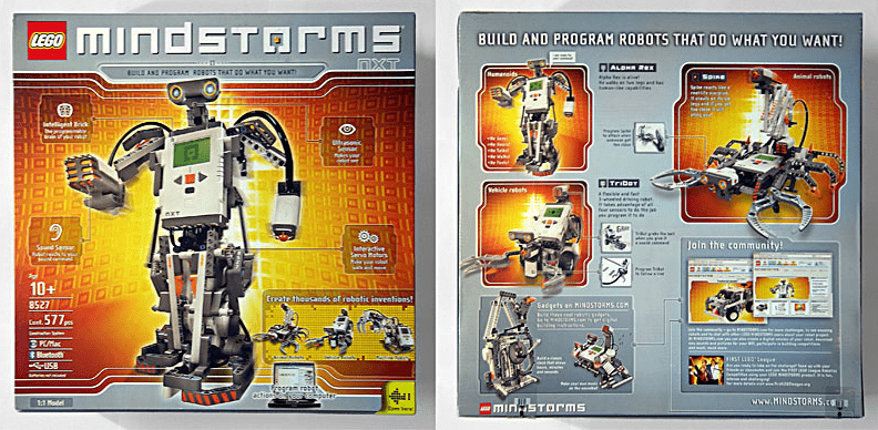 Lego Mindstorms Nxt Intelligent And Cute Robot Toytico