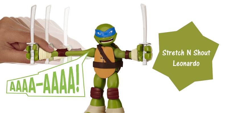Teenage Mutant Ninja Turtles Stretch N Shout Leonardo