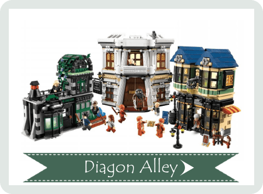 Diagon Alley 10217 Lego Set