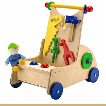 HABA wooden activity push toy