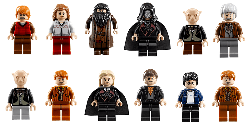LEGO Harry Potter Diagon Alley Figures