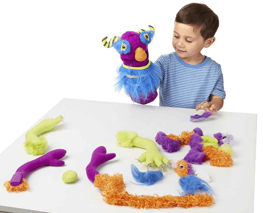 Melissa and Doug - Fuzzy monsters puppet set