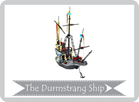 The Durmstrang Ship Lego