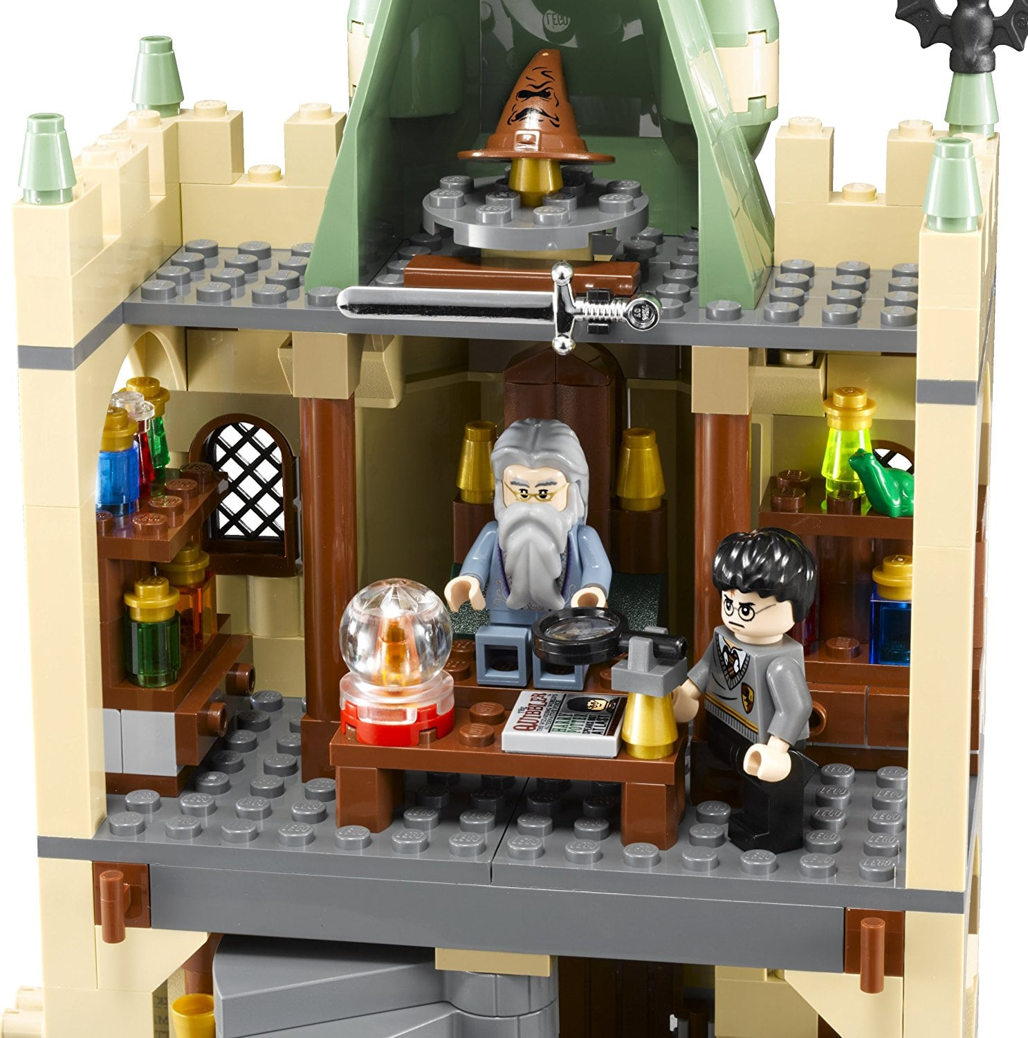 the room of Professor Dumbledore Lego