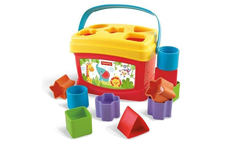 Fisher-Price Brilliant Basics Baby First Blocks