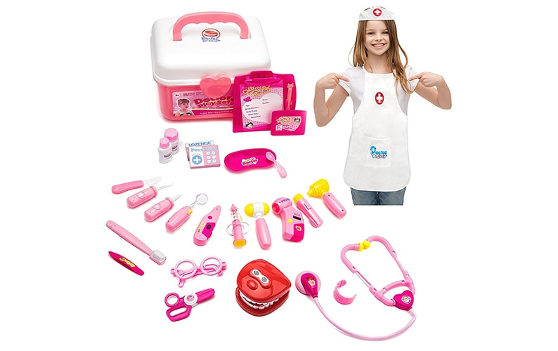 GAMZOO Doctor Kit Set Dentist Playsett
