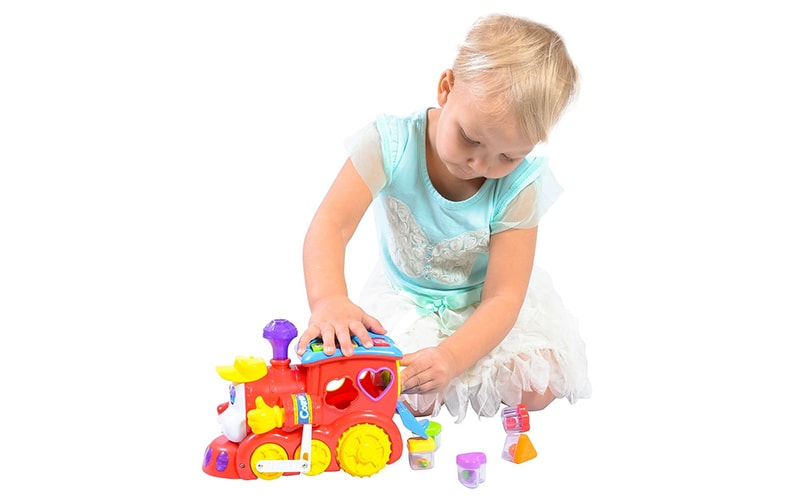 PlayBoom Educational Train Toy