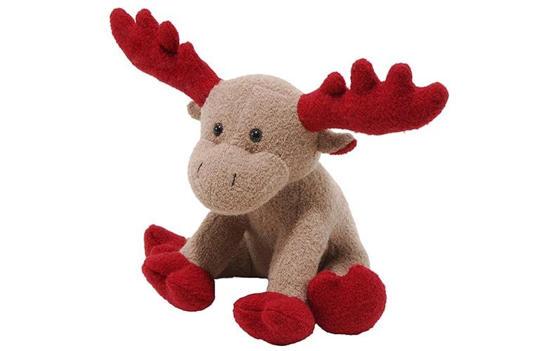 Jax and Bones Red Christmas Moose