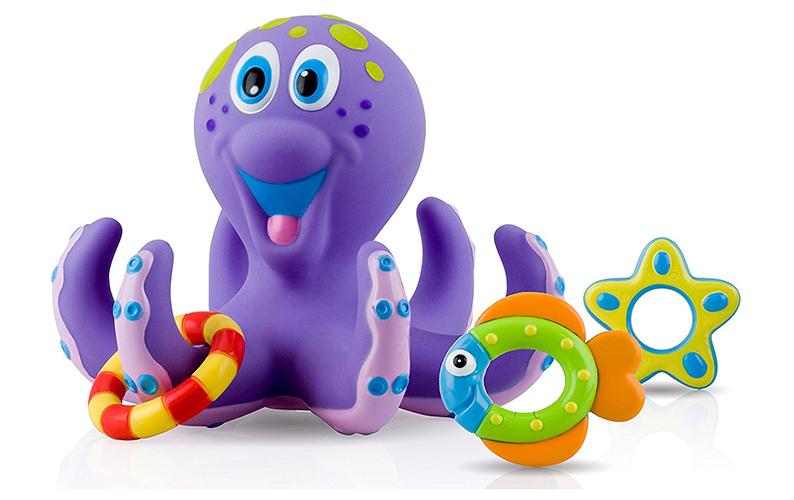 Nuby Octopus Hoopla Bathtime