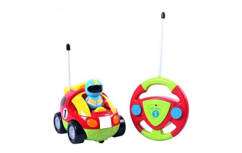 Cartoon RC Race Car Radio Control Toy