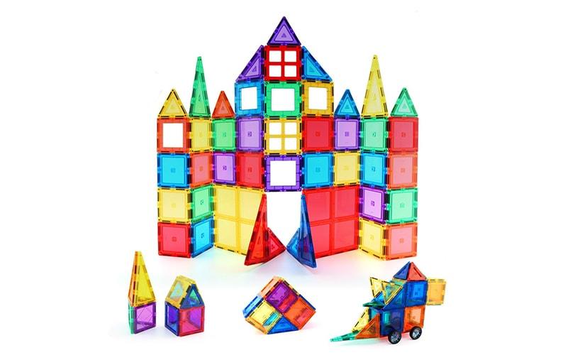 Children Hub 60pcs Magnetic Tiles Set