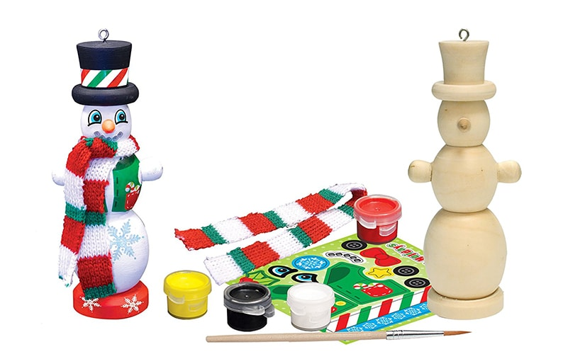Masterpieces Works of Ahhh Snowman Paint Kit