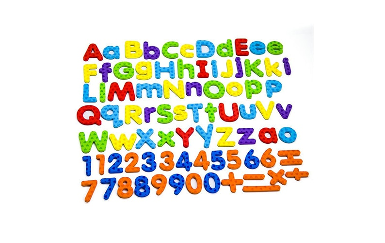 Magnetic Letters and Numbers for Educating Kids