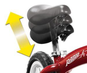 radio flyer balance bike seat