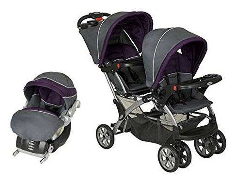Baby Trend Sit N Stand Double Stroller - elixir