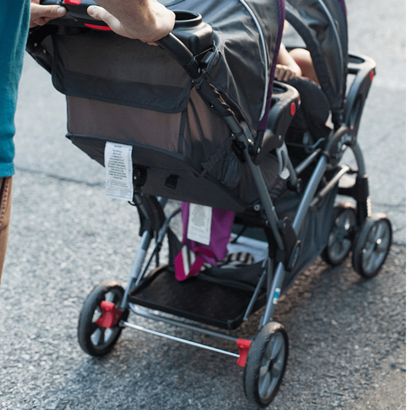 Baby Trend Sit-N-Stand Double Stroller review