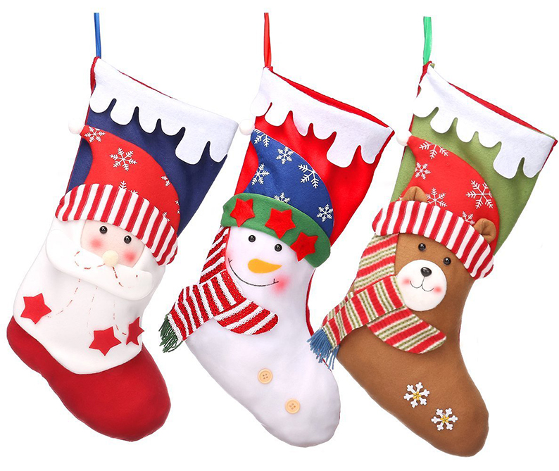 Christmas Stockings 18 Xmas Party Mantel Decorations