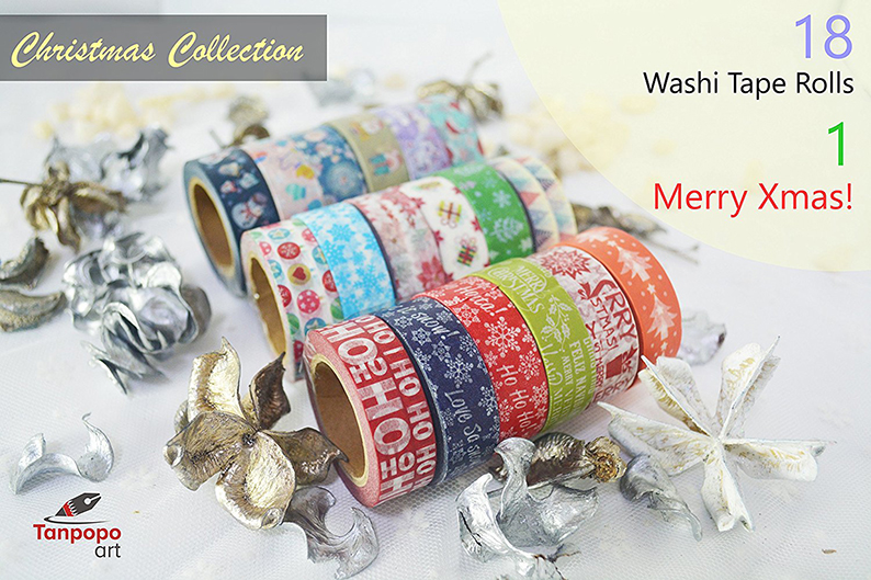 Cute Festive Pretty Tapes for Xmas Decorations