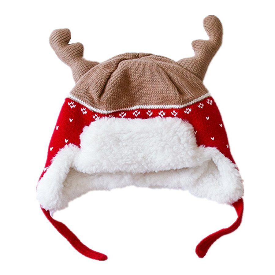 Home Prefer Kids Christmas Hats Cotton