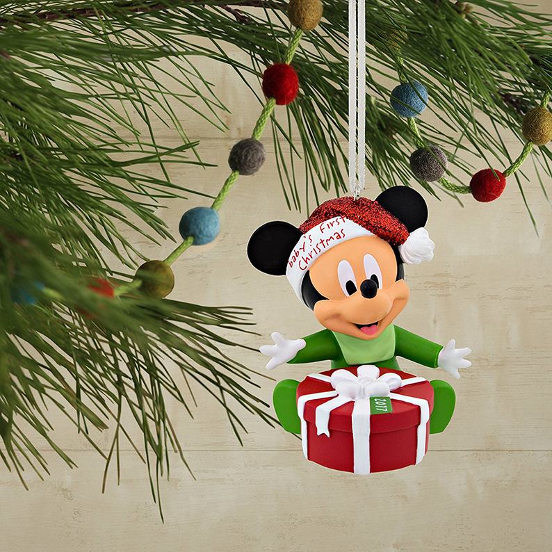 Mickey Mouse Baby's 1st Christmas Ornament