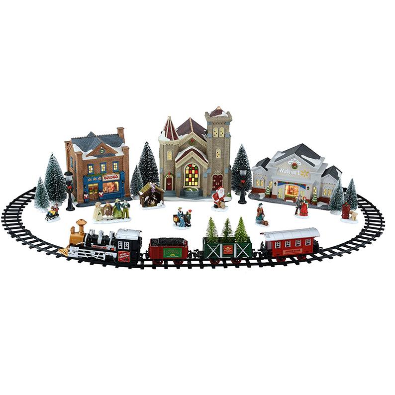 Train Set Christmas Village