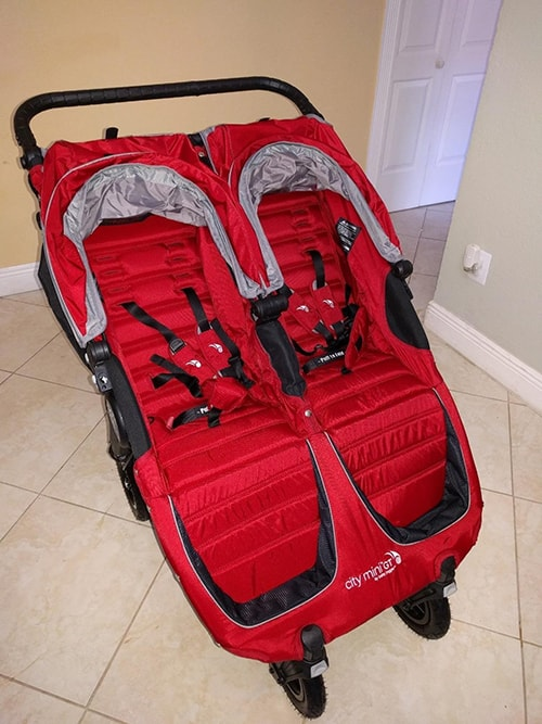 Baby Jogger City Mini GT - red