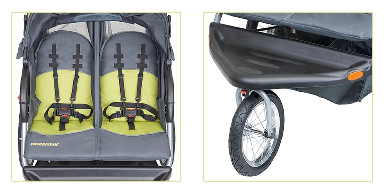 Baby Trend Expedition Double Jogger Stroller Wheel and Belts