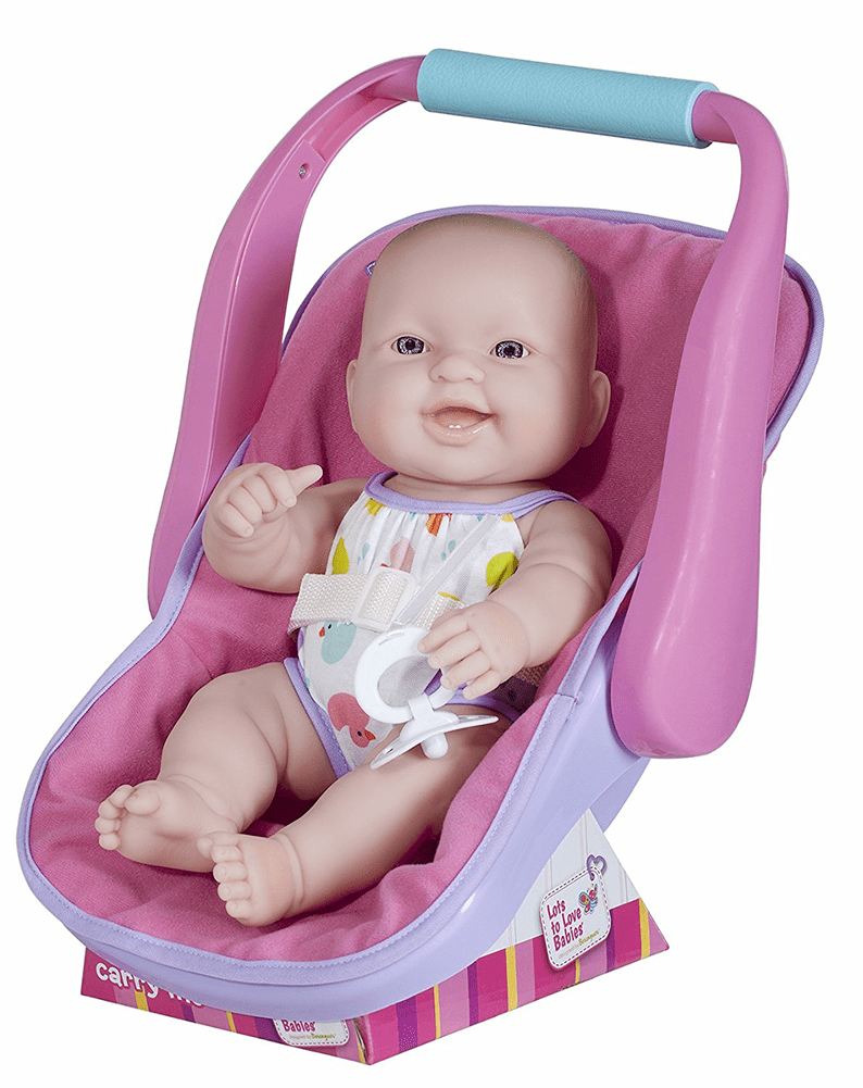 BABY DOLL IN ADJUSTABLE CARRIER