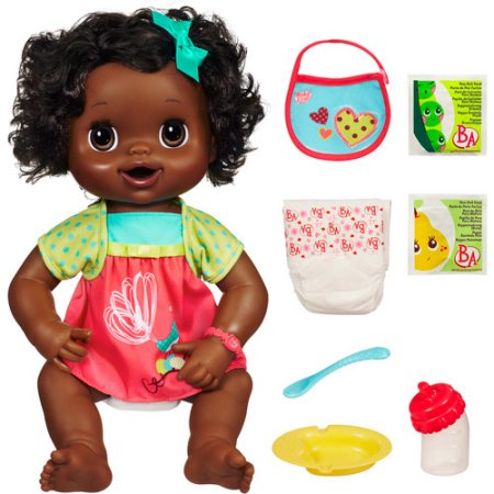 ee42a58fa Baby Alive My Baby Alive Talking African American Baby Doll