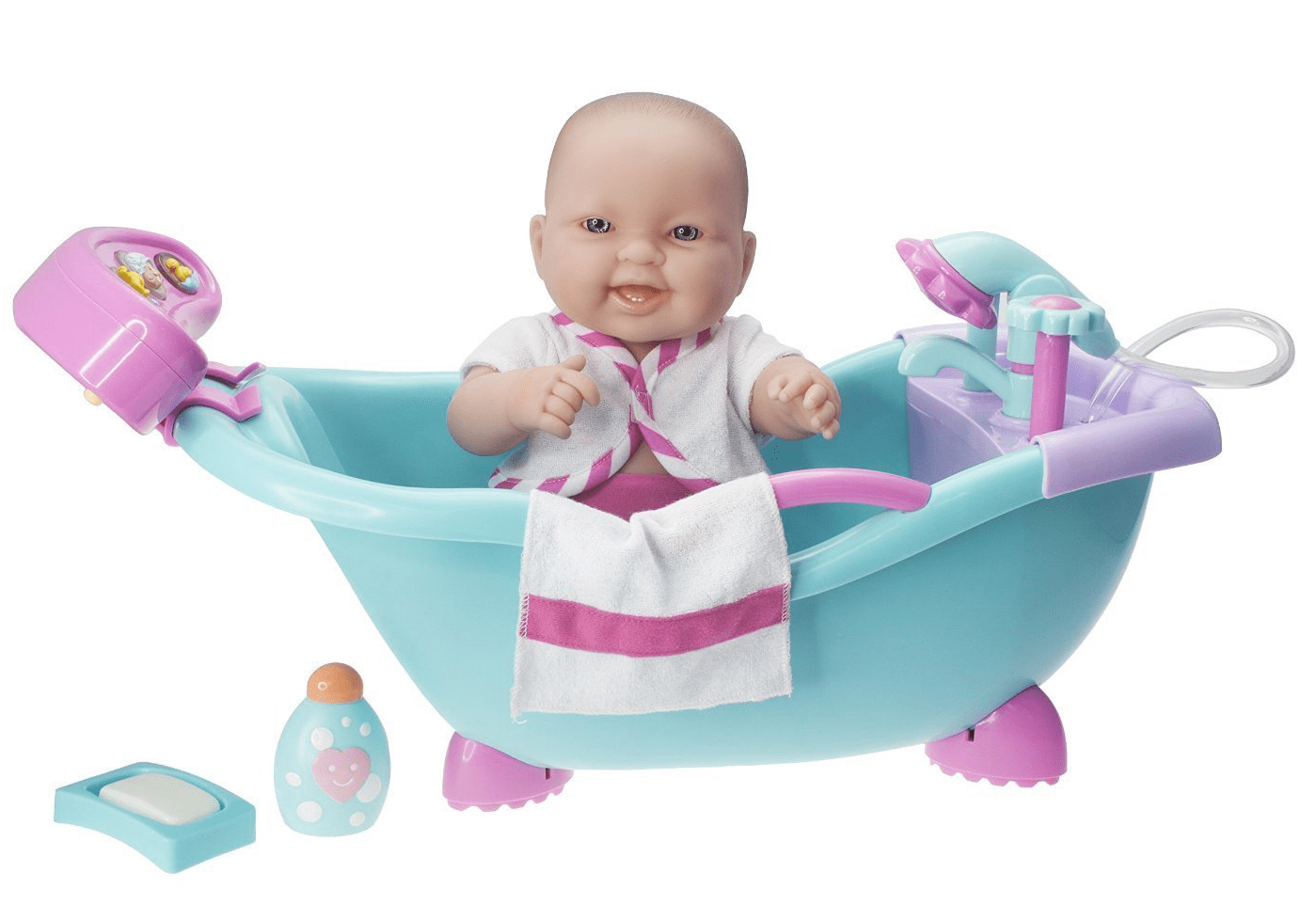 Baby Doll Real Working Bathtub with Electronic Bath Sounds