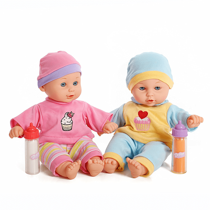 Baby Twins Dolls 1 Boy 1 Girl