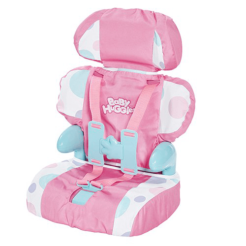 Cadson Car Seat and Booster with Seatbelt for Dolls