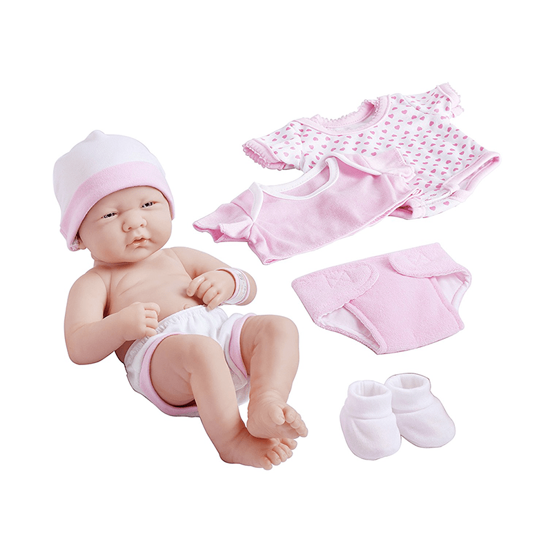 La Newborn Nursery 8 Piece Layette Baby Doll