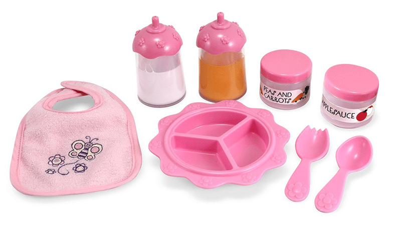 Love Time to Eat Doll Accessories Feeding Set