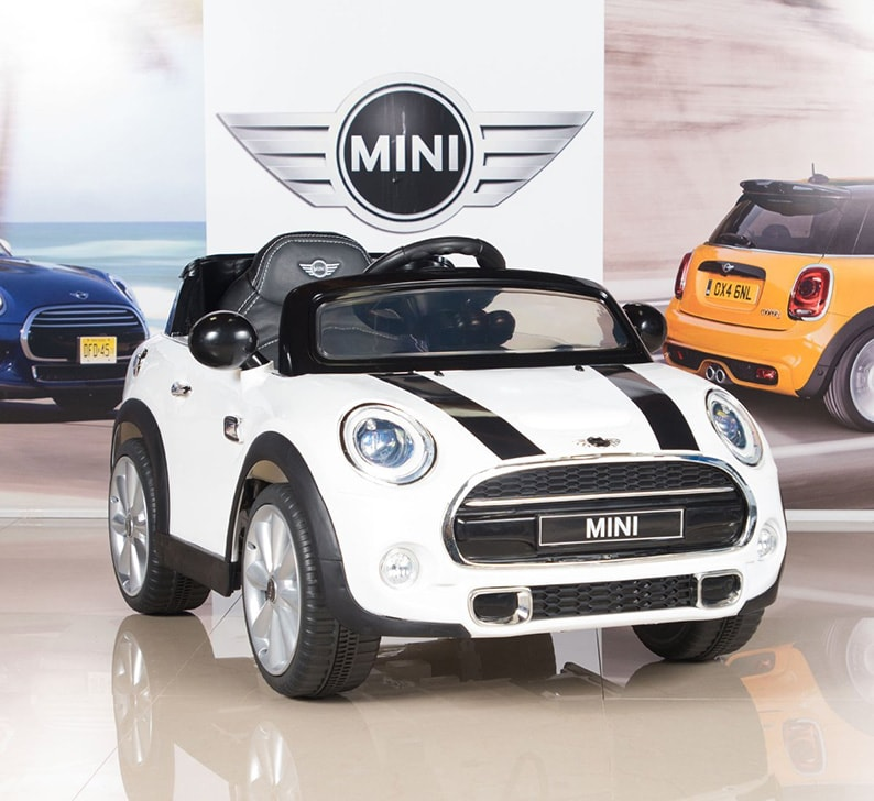 92ca60a57dbd5 MINI Cooper Kids Electric Ride On Car with MP3 and Remote Control