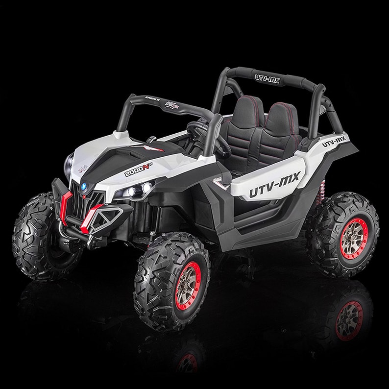 c2d92d429 UTV Screemer 2 SEATER 4WD Kid s Ride On Vehicle Battery Powered Remote  Control min