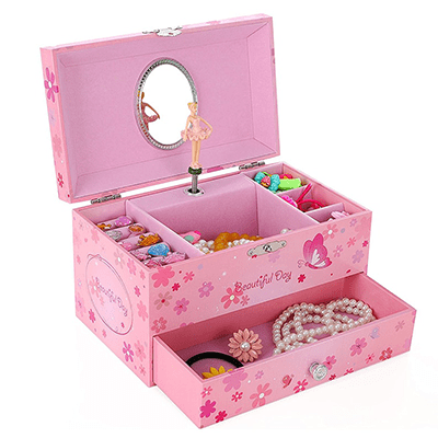 Ballerina Musical Jewelry Box Best Toys for 6 Year Old Girls - ToyTico