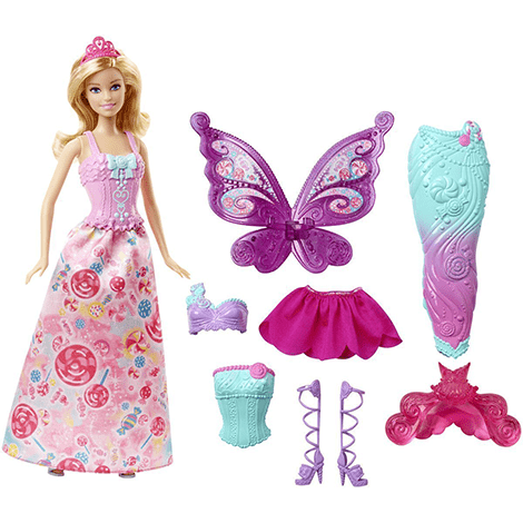 Barbie Dreamtopia Fairytale Dress Up Doll Best Toys for 5 Year Old Girls - ToyTico